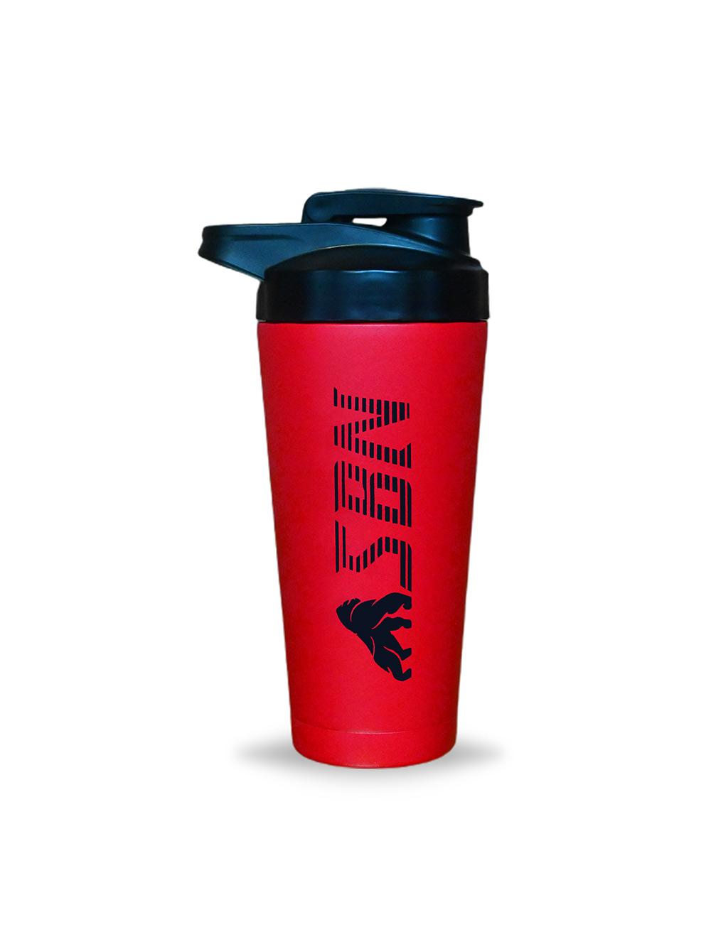 Steel Shaker Red 1